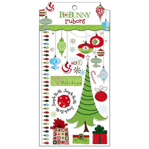 Bo Bunny - Mistletoe Collection - Christmas - Rub Ons