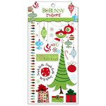 Bo Bunny - Mistletoe Collection - Christmas - Rub Ons