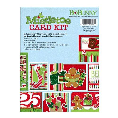 Bo Bunny - Mistletoe Collection - Christmas - Card Kit
