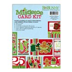 Bo Bunny - Mistletoe Collection - Christmas - Card Kit