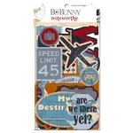 Bo Bunny Press - Detour Collection - Note Worthy Journaling Cards