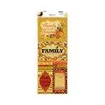 BoBunny - Apple Cider Collection - Cardstock Stickers - We Are Family