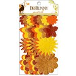 Bo Bunny Press - Apple Cider Collection - Flower Embellishments - Petals