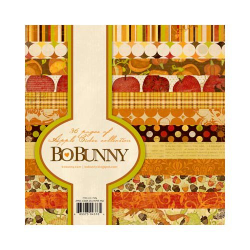 Bo Bunny Press - Apple Cider Collection - 6 x 6 Paper Pad