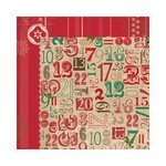 Bo Bunny - Rejoice Collection - Christmas - 12 x 12 Double Sided Paper - Days