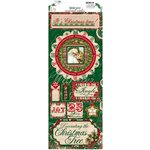 Bo Bunny - Rejoice Collection - Christmas - Cardstock Stickers - It's Christmas Time