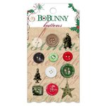 Bo Bunny - Rejoice Collection - Christmas - Buttons