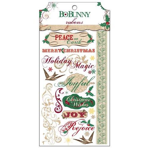 Bo Bunny - Rejoice Collection - Christmas - Rub Ons