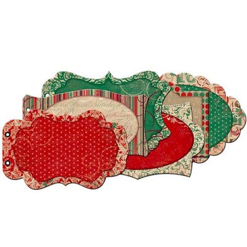 Bo Bunny - Rejoice Collection - Christmas - Mini Edgy Album - Rejoice