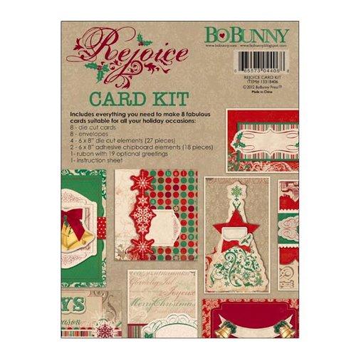 Bo Bunny - Rejoice Collection - Christmas - Card Kit