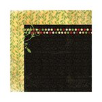Bo Bunny - Serenade Collection - 12 x 12 Double Sided Paper - Vines