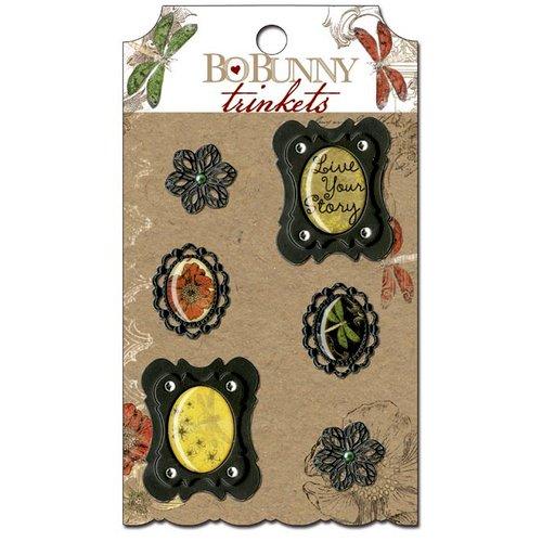 Bo Bunny - Serenade Collection - Metal Embellishments -Trinkets