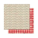Bo Bunny - Love Letters Collection - 12 x 12 Double Sided Paper - Notes