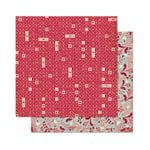 Bo Bunny - Love Letters Collection - 12 x 12 Double Sided Paper - Puzzle