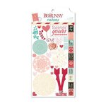 Bo Bunny - Love Letters Collection - Rub Ons