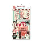 Bo Bunny - Love Letters Collection - Noteworthy Journaling Cards