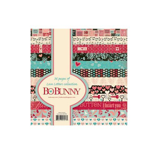 Bo Bunny - Love Letters Collection - 6 x 6 Paper Pad
