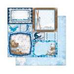 Bo Bunny - Powder Mountain Collection - 12 x 12 Double Sided Paper - Extreme