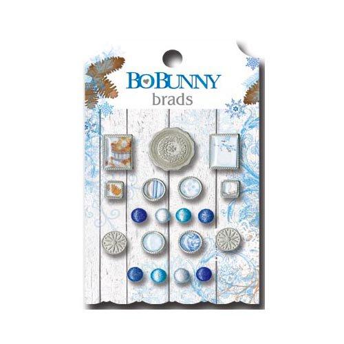 Bo Bunny - Powder Mountain Collection - Brads
