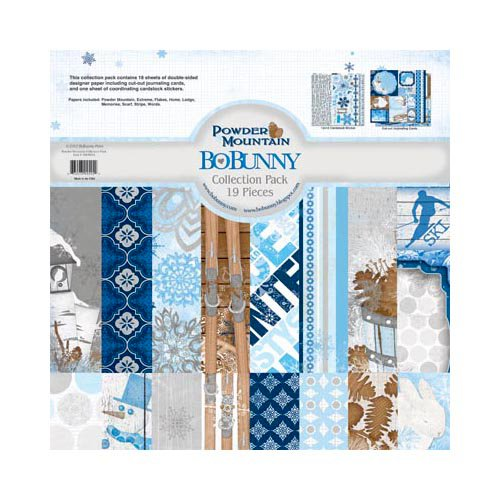 Bo Bunny - Powder Mountain Collection - 12 x 12 Collection Pack