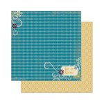 Bo Bunny - Snow Day Collection - 12 x 12 Double Sided Paper - Snow Day