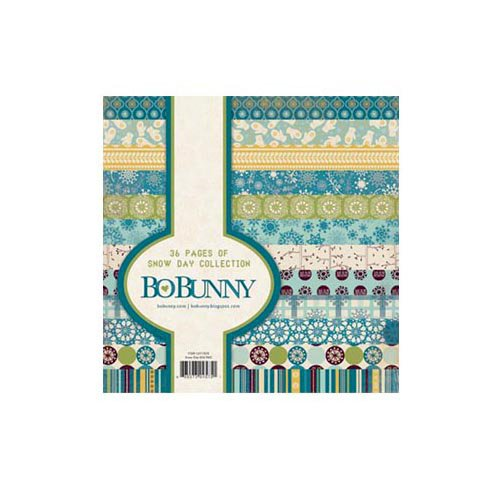 Bo Bunny - Snow Day Collection - 6 x 6 Paper Pad