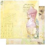 BoBunny - C'est la Vie Collection - 12 x 12 Double Sided Paper - C'est la Vie