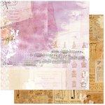 BoBunny - C'est la Vie Collection - 12 x 12 Double Sided Paper - Belle