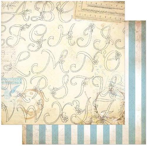 Bo Bunny - C'est la Vie Collection - 12 x 12 Double Sided Paper - Creme de la Crème