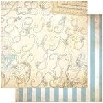 BoBunny - C'est la Vie Collection - 12 x 12 Double Sided Paper - Creme de la Crème