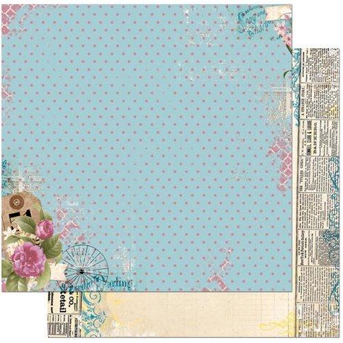 BoBunny - C'est la Vie Collection - 12 x 12 Double Sided Paper - Deja vu