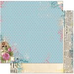 Bo Bunny - C'est la Vie Collection - 12 x 12 Double Sided Paper - Deja vu