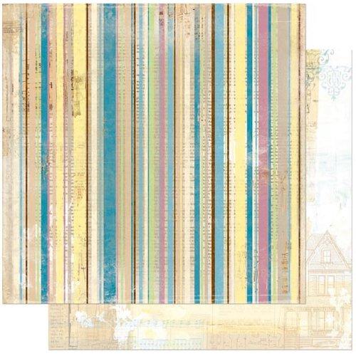BoBunny - C'est la Vie Collection - 12 x 12 Double Sided Paper - Panache
