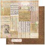 BoBunny - C'est la Vie Collection - 12 x 12 Double Sided Paper - Voila