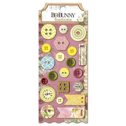 Bo Bunny - C'est la Vie Collection - Buttons