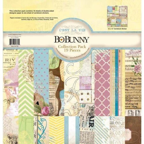 Bo Bunny - C'est la Vie Collection - 12 x 12 Collection Pack