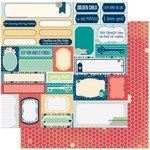 Bo Bunny - Family Is Collection - 12 x 12 Double Sided Paper - Silly