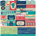 Bo Bunny - Family Is Collection - 12 x 12 Cardstock Stickers - Combo