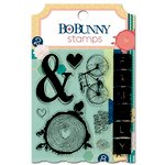 Bo Bunny - Family Is Collection - Clear Acrylic Stamps