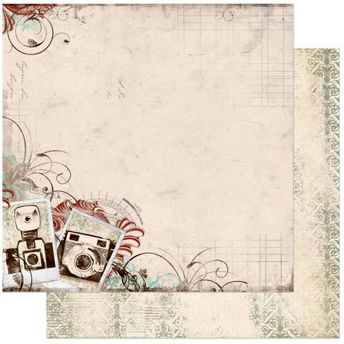 Bo Bunny - Mama-razzi 2 Collection - 12 x 12 Double Sided Paper - Mama-razzi 2