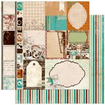 Bo Bunny - Mama-razzi 2 Collection - 12 x 12 Double Sided Paper - Darkroom