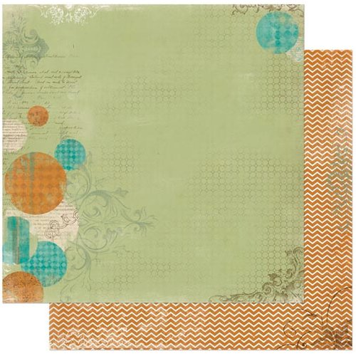 BoBunny - Mama-razzi 2 Collection - 12 x 12 Double Sided Paper - Sidelighting