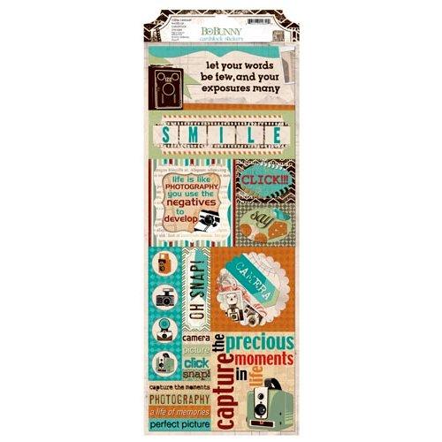 Bo Bunny - Mama-razzi 2 Collection - Cardstock Stickers - Photo Op