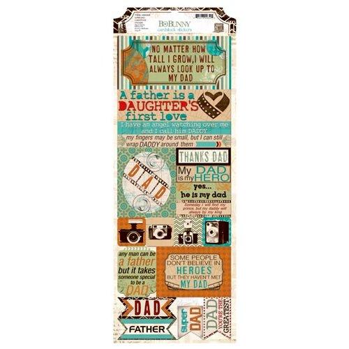 BoBunny - Mama-razzi 2 Collection - Cardstock Stickers - Super Dad