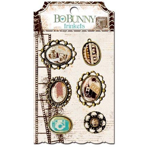 BoBunny - Mama-razzi 2 Collection - Metal Embellishments - Trinkets