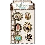 Bo Bunny - Mama-razzi 2 Collection - Metal Embellishments - Trinkets