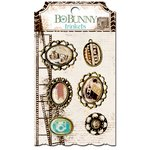 BoBunny - Mama-razzi 2 Collection - Metal Embellishments - Trinkets