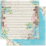 BoBunny - Prairie Chic Collection - 12 x 12 Double Sided Paper - Prairie Chic