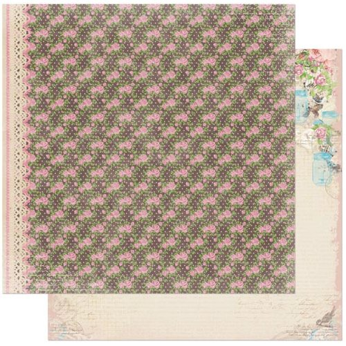 BoBunny - Prairie Chic Collection - 12 x 12 Double Sided Paper - Calico