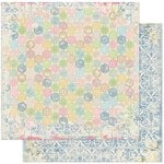 BoBunny - Prairie Chic Collection - 12 x 12 Double Sided Paper - Dot